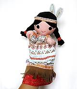 - Maňuška indiánka - Augustové Slnko - 9848424_