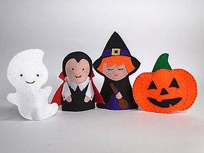 Hračky - Bábky na prsty: Halloween - 9848895_
