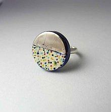 Prstene - Tana šperky - keramika/platina - 9850748_