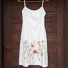 Šaty - Maľba na želanie zákazničky - 9847740_