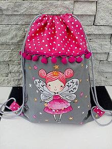 Detské tašky - Batoh víla - 9847754_