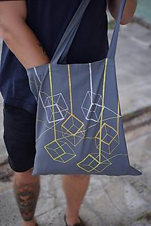Veľké tašky - Bavlnená taška ON STRING - 9848917_