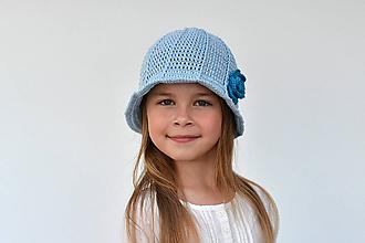Návody a literatúra - Rozkvitnutý klobúk - návod na háčkovanie - 9848247_