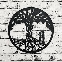 Dekorácie - Strom života - Zaľúbený pár - 9849343_