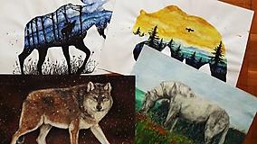 Kresby - Kresby, ilustrácie, maľby zvierat - formát A3 - 9849059_