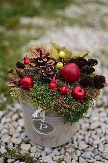 Dekorácie - Jesenná dekorácia na stôl - 9850628_