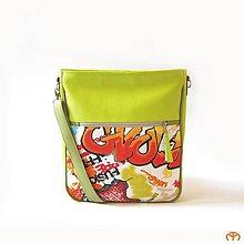Veľké tašky - SCHOOL & OFFICe - Street Art - 9850679_