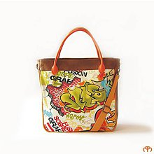 Veľké tašky - SIMPLY size L - Street Art - 9850706_