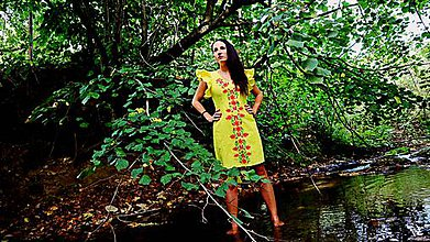 Šaty - Dámske spoločenské šaty - 9848380_