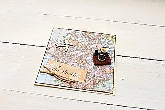 Papiernictvo - pohľadnica pre cestovateľa - 9850979_