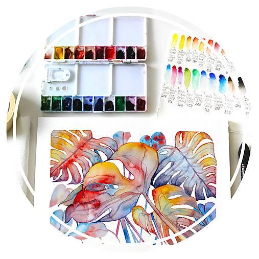 WORKSHOP akvarelovej maľby, úvodný kurz