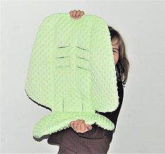 Textil - Podložka s minky - 9852854_