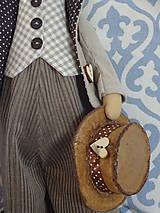 Bábiky - Myší  vintage párik - 9853062_