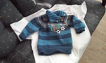 Detské oblečenie - sveter futbal 2 - 9852489_