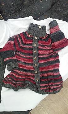Detské oblečenie - dievčenská vesta 3 - 9852553_
