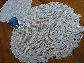 801bea6ef Úžitkový textil - háčkovaný obrus