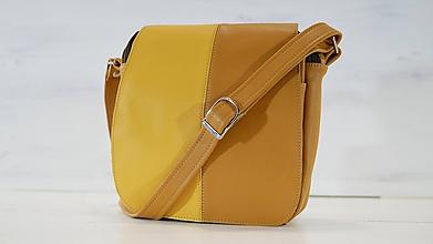Veľké tašky - Kožená kabelka - Sinta - 9851705_