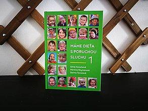 Knihy - Kniha Máme dieťa s poruchou sluchu 1 - 9851715_
