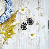 Náušnice - Confetti n.8 - sutaškové náušnice - 9851516_