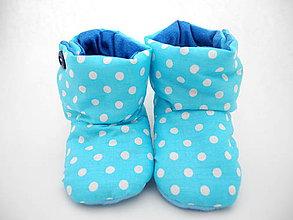 Topánočky - Teplé papučky - 9853963_