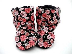 Topánočky - Teplé papučky - 9853976_