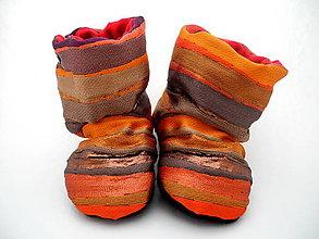 Topánočky - Teplé papučky - 9853981_