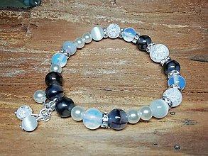 Náramky - Náramok s perličkami - 9854125_