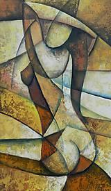 Obrazy - AKT, kubismus - 9853698_