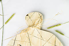 Pomôcky - Drevený lopár - Geometrický - 9851200_