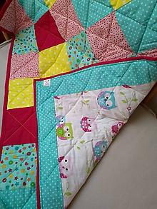 Textil - Detská deka CrazyColor - 9853230_