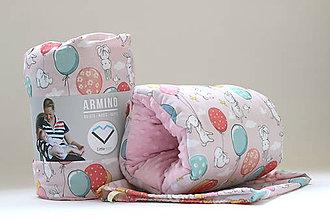 Textil - Dojčiaci vankúš BUNNY - 9852208_