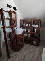 Nábytok - Kúpeľňa so starého dreva 2 - 9853511_