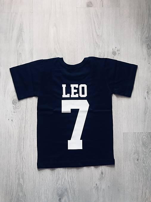 c665a3970127 Detské tričko s menom a číslom   ele-ele - SAShE.sk - Handmade ...