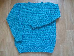 Detské oblečenie - Tyrkys BUBLINKY jarná zľava - 9851475_