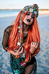 Ozdoby do vlasov - Koruna s hviezdičkami z kolekcie Mermaid dream - 9853773_