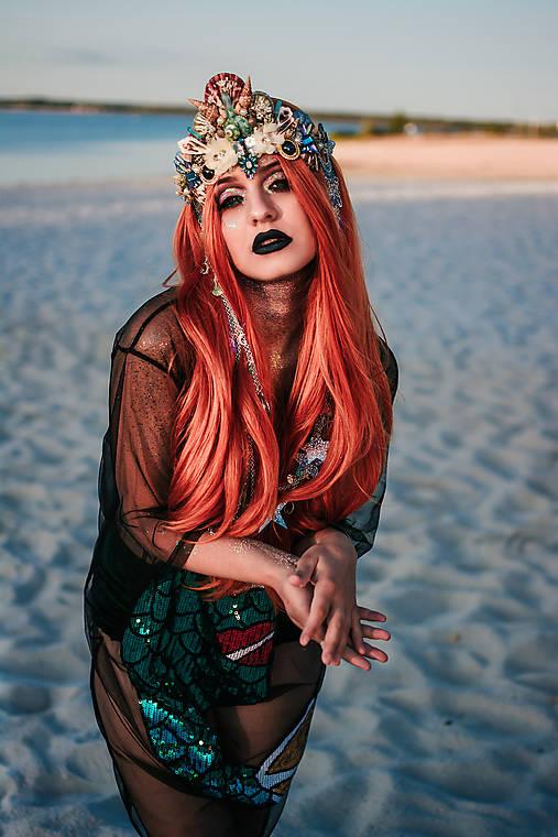 Koruna s hviezdičkami z kolekcie Mermaid dream