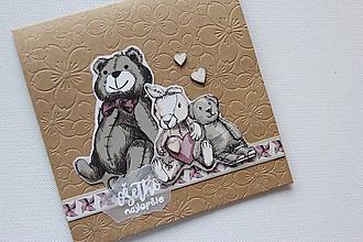 Papiernictvo - Pohľadnica pre dievčatko - 9854402_