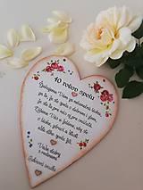 Tabuľky - Výročie svadby II - 9852540_
