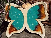 Socha - Motýlik (Tyrkysová) - 9853158_