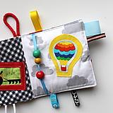 Hračky - Baby book/Soft book Dopravné prostriedky - 9853293_
