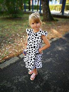 Detské oblečenie - Šaty s volánmi - 9856807_