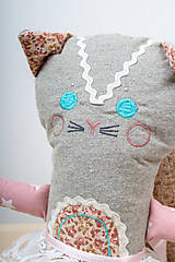 Hračky - Kočička velká - 9856694_