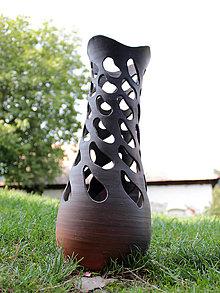 Dekorácie - Prerezávaná váza - 9855079_