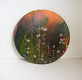 Obrazy - Kvety, priemer 30 cm - 9855153_