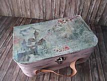 Krabičky - Kufrík na drobnosti - 9856623_