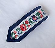 Doplnky - slim kravata folk - 9856922_