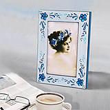 Rámiky - Ručne maľovaný rámček - Malé Delfy - 9857440_