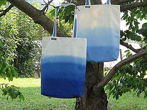 Nákupné tašky - Taška v modrom - 9857377_