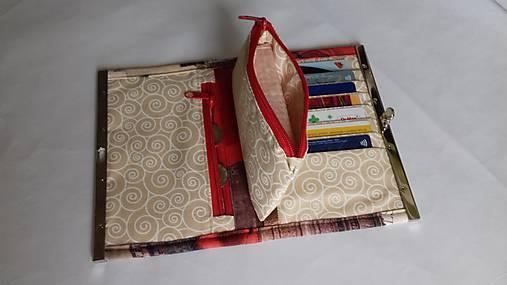 3da18f906 Rámčeková peňaženka-kabelka / svan - SAShE.sk - Handmade Peňaženky