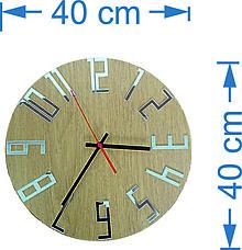 Hodiny - Moderné hodiny na stenu čísla - FAVI - 9854738_